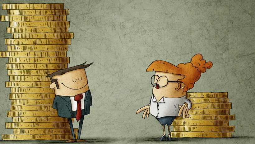 CRE gender pay gap widens at mid-career