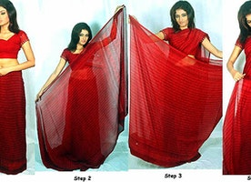 How To Wear A Saree So That You Look Slim