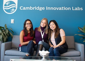 Cool projects people at Philips work on: Coding Blonde visiting Philips Cambridge office.