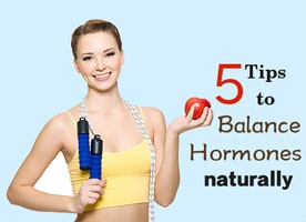 5 Tips To Balance Hormones Naturally