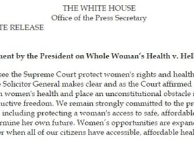 Supreme Court Sets Precedent for Women's Reproductive Freedom