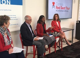 Video Blog: Cambia Red Seat Tour with American Heart Association Empowers Women on Journey for Better Health