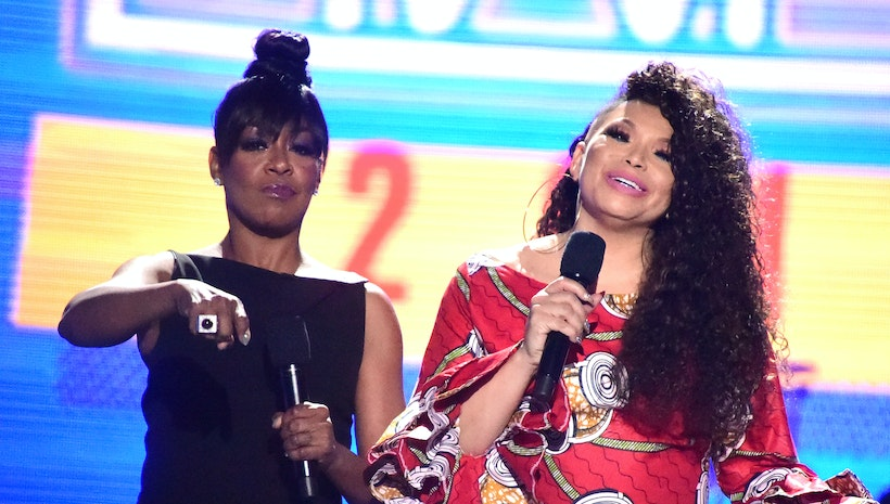 Tichina Arnold and Tisha Campbell Host the 2018 Soul Train Awards