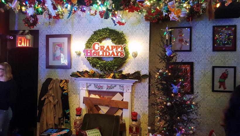 """#HOLIDAYTALK The Skinny Bar & Lounge transforms into the anti-holiday Bar """"Helliday Inn"""" That you MUST Visit"""