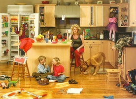 A Stay-A-Home Mother Of Three Surprises Her Husband…