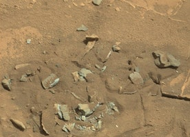 The Mars Rover Took This Photo Last Week. Look Closely
