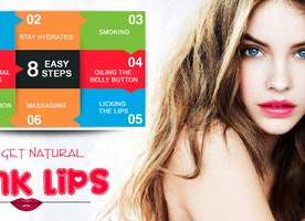 8 Easy Steps To Get Natural Pink Lips