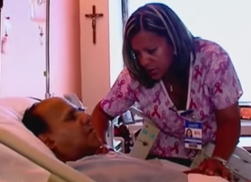 This Nurse Got The Surprise Of A Lifetime By Accidentally Meeting Her Long Lost Father.