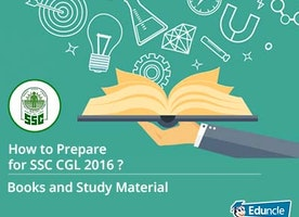 How to Prepare for SSC CGL 2016 | Books and Study Material