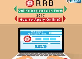RRB Online Registration Form 2017 | How to Apply Online