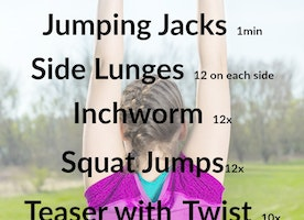At Home Quickstart Workout - Style On The Side