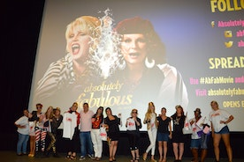 'Absolutely Fabulous: The Movie' – a fun screening in New York with a bunch of Patsys and Edinas in the audience