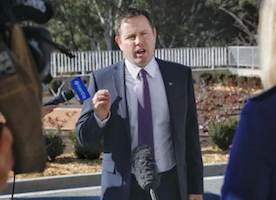 Australian Government Minister Resigns From His Position for Inappropriate Conduct