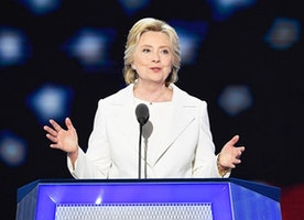 HISTORY HAS BEEN MADE: Hillary Clinton accepts Democratic presidential nomination #girlboss #dnc