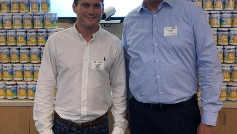 Logicalis'  Andrew McAlister and Kevin Ross, attended the Connected Women SoCal JoyJars Give Back Event sponsored by Cisco.