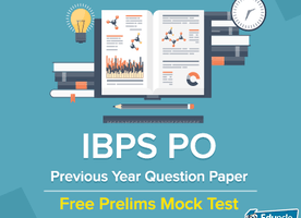 IBPS PO Previous Year Question Paper | Free Prelims Mock Test