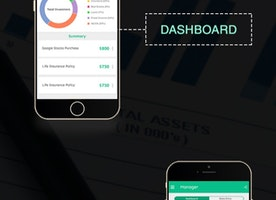Stock Trading App Interface Design for Android and Iphone