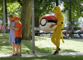 Watch Pokémon catch 'em all
