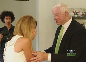 Man Who Received Bride's Father's Heart To Walk Her Down Aisle