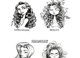 Hilarious Illustrations Show The Difference Between Hair Product Promises And Reality