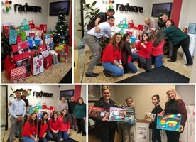 Radware Gives Back - Holiday Toy Drive