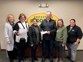 Area Sales Director, Andy Losekamp, delivered the Logicalis charitable donation check to the Freestore Foodbank in Cincinnati this week!