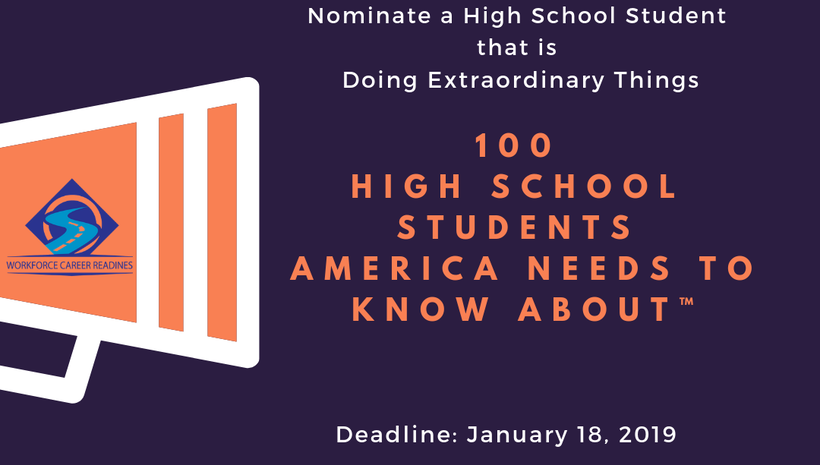 100 High School Students America Needs to Know About™