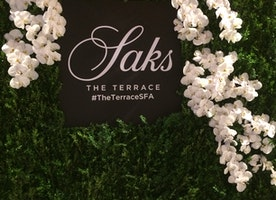 The opening of The Terrace at Saks Fifth Avenue: An elegant venue in the heart of the city