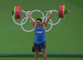 When You Watch this Weightlifter Dance at the #Olympics, You Will Understand Why He's the Funniest Athlete Ever :-)
