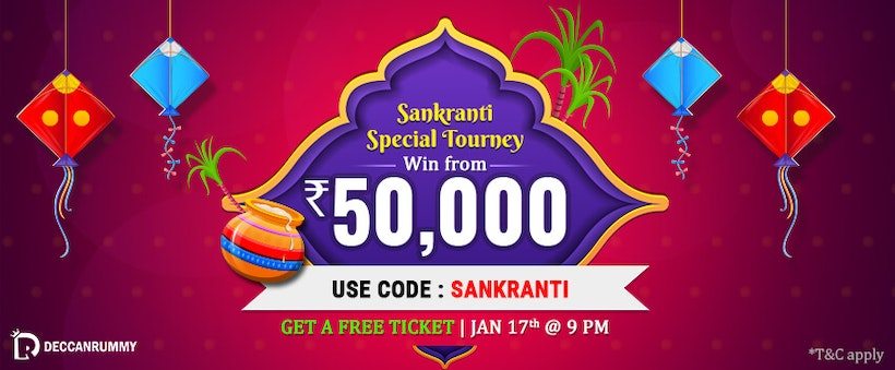 Play Rummy Card Game – Sankranti Special Rummy Tournament