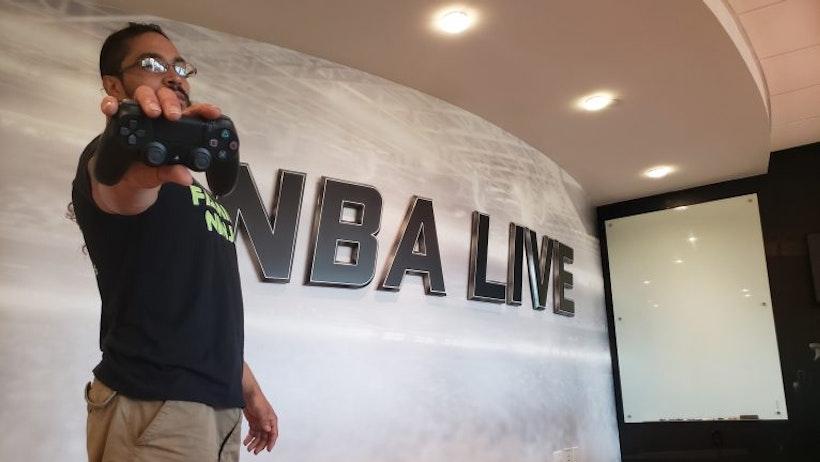 Meet NBA LIVE Quality Designer, Richie Cortes