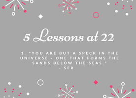 5 Lessons at 22