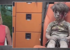 CNN Anchor #Kate Bolduan Breaking Down on Air Over Innocent Syrian Bomb Victim will Leave You Crying too.