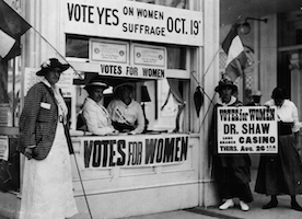 These Images of Women Voting are Beautiful: Here's to Susan B. Anthony for Pushing for Our Right to Vote!