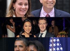 Intelligent Women By their Men's side