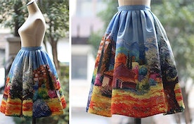 Paintings Made Into Beautiful Clothing