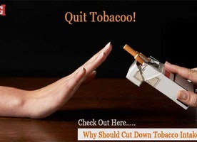 Quit Tobacco! Check Out Here…Why Should One Cut Down Tobacco Intake?