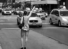 How Hailing a Cab Naked Became An Ultimate Life-Altering Moment:  By AlIie Mac