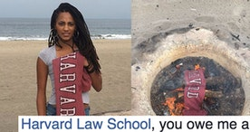 Women are burning their Harvard and Tufts sweats to protest campus sexual assault