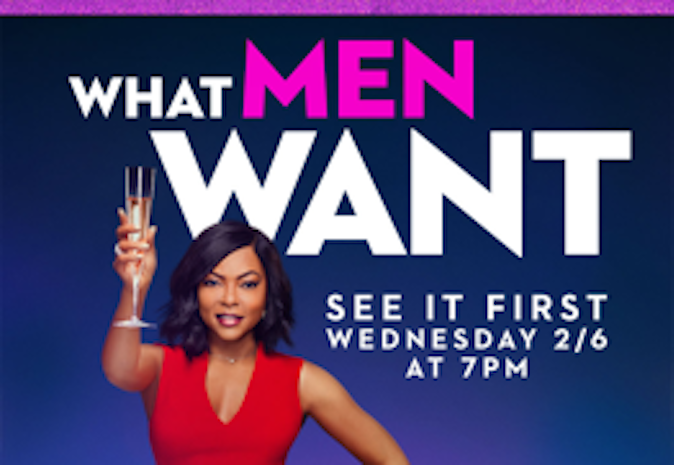 "Paramount Pictures and Exhibition Partners Launch ""Girls' Night Out"" Advance Screenings to the Comedy What Men Want"