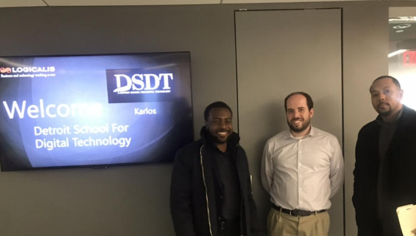 Great meeting with Karlos Harris of Detroit School of Digital Technology