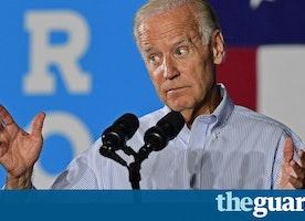 'My friends died,' heckler shouts. 'So did my son,' Joe Biden shoots back