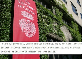 Here's Why UChicago's Rejection Of 'Trigger Warnings' Is Protecting The Wrong People