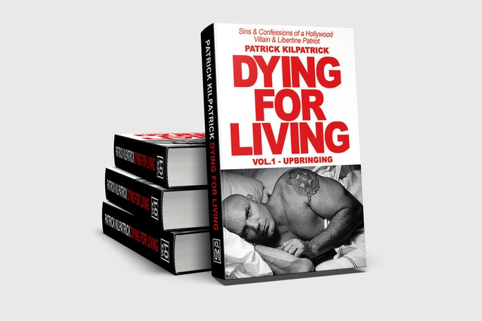 Actor Patrick Kilpatrick Discusses and Signs his New Book Dying for Living: Sins & Confessions of a Hollywood Villain & Libertine Patriot at the Barnes & Noble Kitchen in Plano, TX