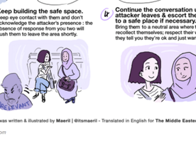 I Had to Share this Guide I Saw on What to do if you Witness Islamophobia. Very important.