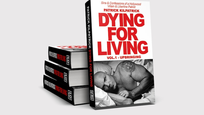 Actor Patrick Kilpatrick Signs Dying for Living: Sins & Confessions of a Hollywood Villain & Libertine Patriot at Barnes and Noble Burbank Town Center