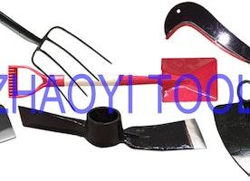 specialized manufacture in forging steel spading farming garden digging forks hoes pitchforks