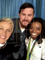 Channing Tatum Losing It over Simone Biles is the best thing on the internet today