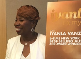 "Iyanla Vanzant Discusses the New Season of ""Fix My Life"" in NYC on September 7, 2016"