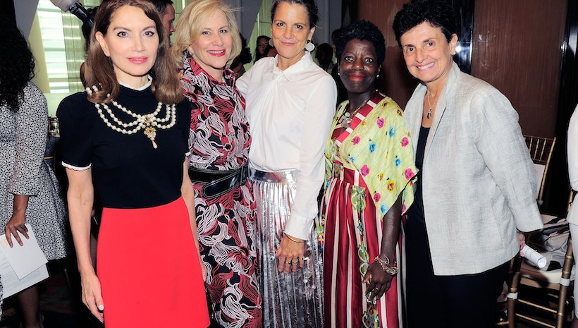 Social Justice,  Women's Philanthropy and Art Connect at the 2016 Le Cirque Luncheon Hosted by Jean Shafiroff for The New York Women's Foundation
